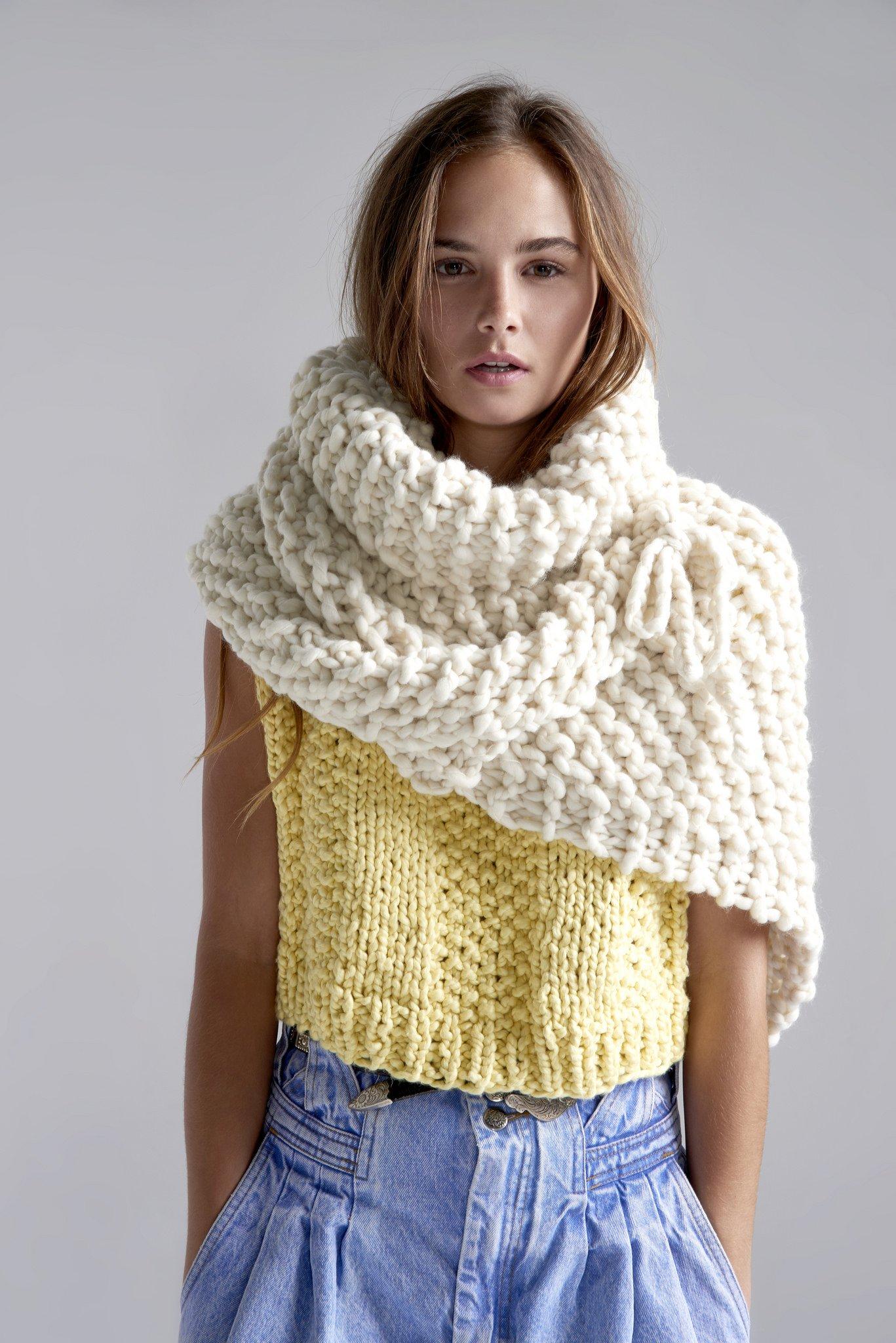 pleten shawl